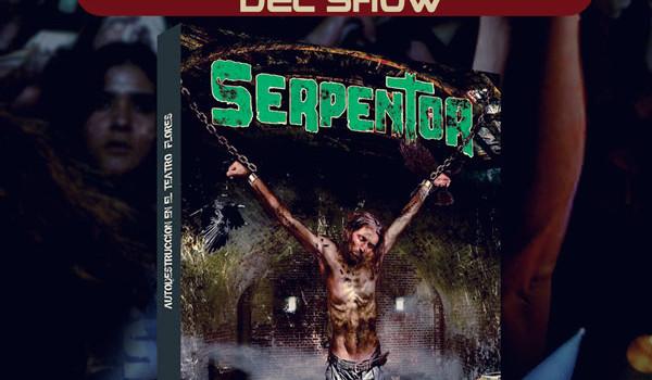 SERPENTOR – AUTODESTRUCCIÓN EN VIVO DVD en venta exclusiva el día del show!