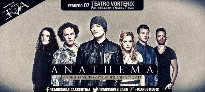 ANATHEMA en Argentina