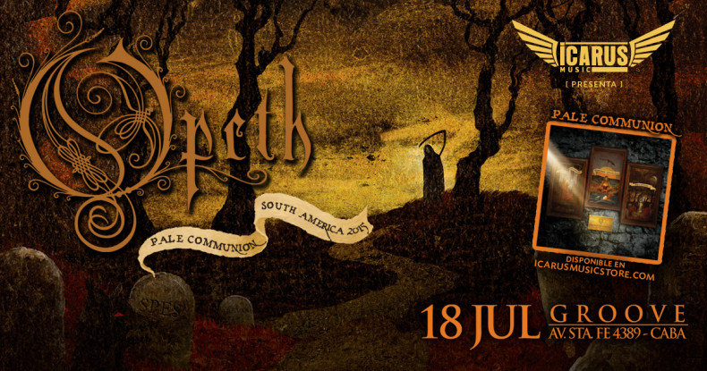 "OPETH EN ARGENTINA! 2015 – ""Pale Comunnion South America"""