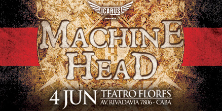 MACHINE HEAD EN ARGENTINA