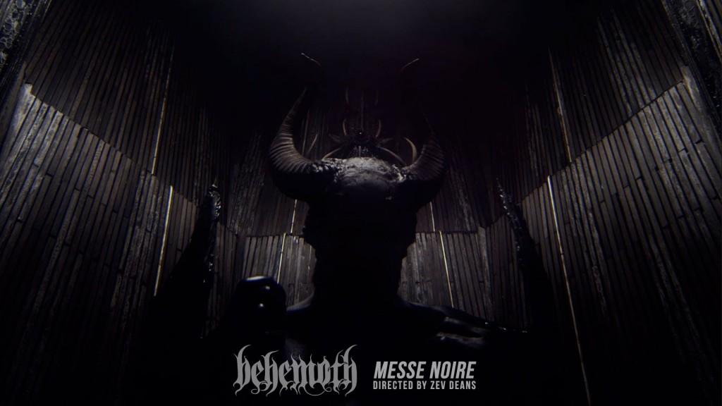 """BEHEMOTH! presenta su nuevo vidoclip """"Messe Noire"""""""