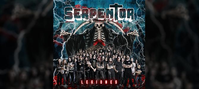 """Serpentor revela el arte de tapa de """"Legiones"""""""