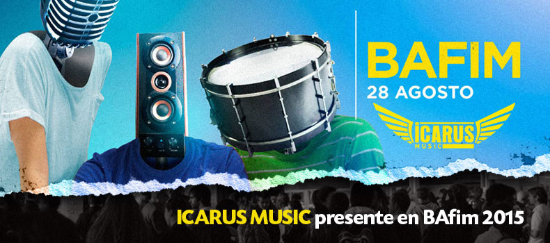 ICARUS MUSIC Presente en Bafim 2015, la feria de música mas importante de Latinoamerica.
