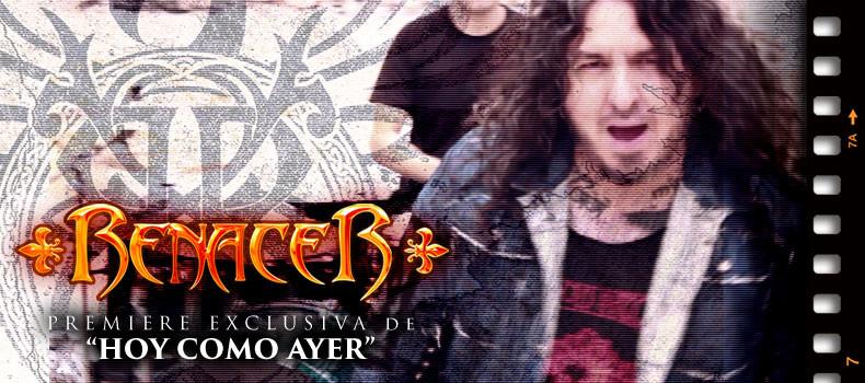 """RENACER estrena el videoclip de """"Hoy Como Ayer"""""""