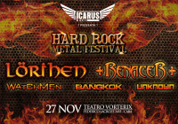 HARD ROCK METAL FESTIVAL: Lorihen – Renacer – Watchmen – Unknown – Bangkok