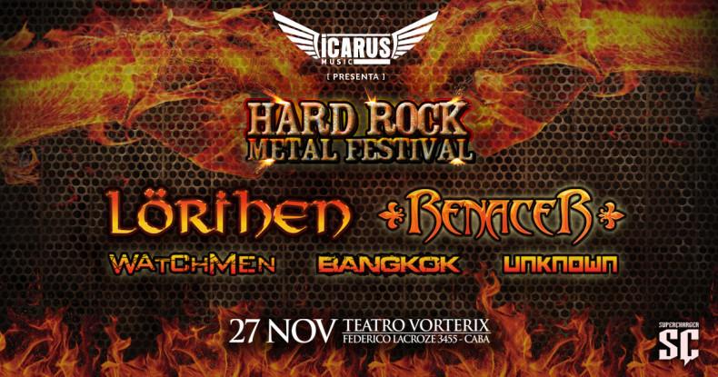 HARD ROCK METAL FESTIVAL: Lorihen – Renacer – Watchmen – Unknown – Bangkok