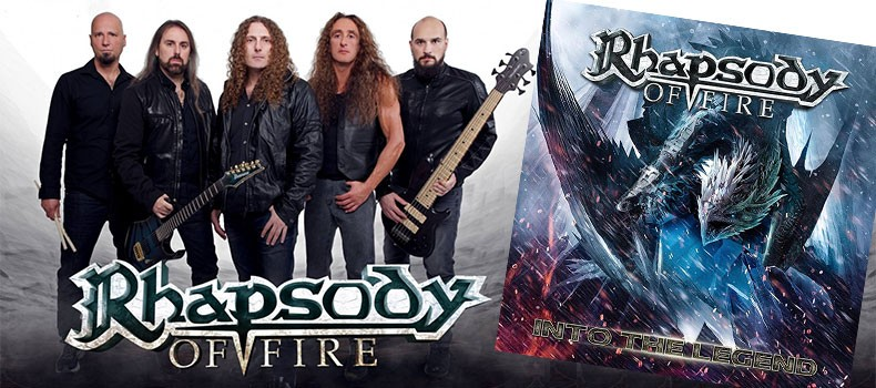 """Into The Legend"" el nuevo disco de Rhapsody of Fire"