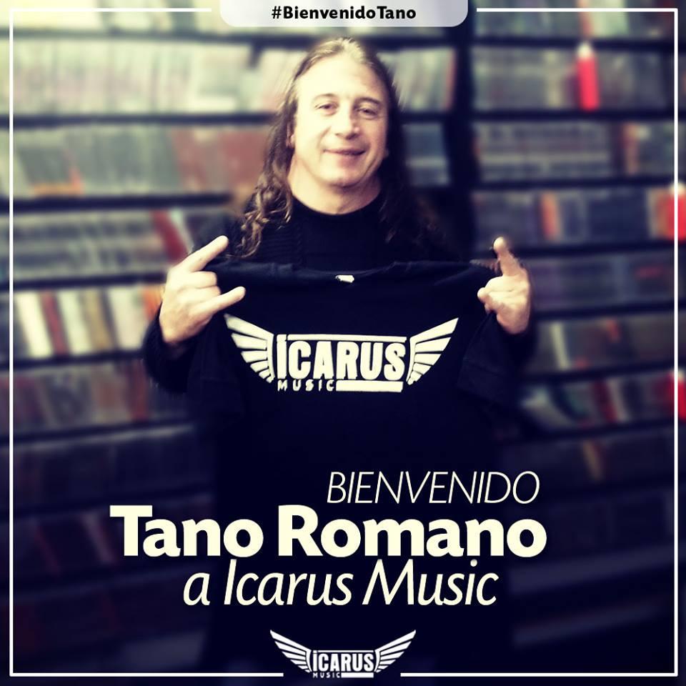 El tano Romano, se suma a las filas de Icarus Music