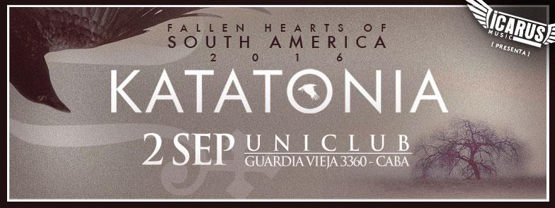 KATATONIA en Argentina