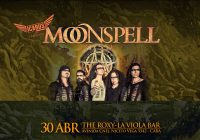 Moonspell en Argentina – LatinAmerican Tour 2018